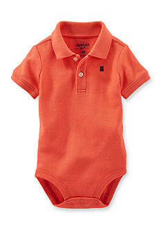 OshKosh B'gosh® Polo Bodysuit