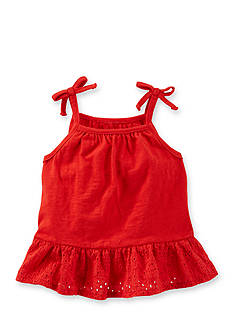 OshKosh B'gosh® Red Ruffle Tank