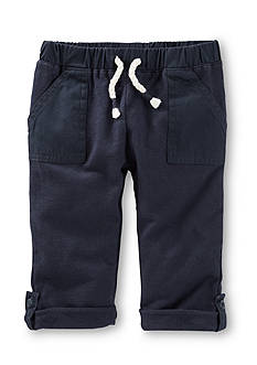 OshKosh B'gosh® Woven Roll Up Pants