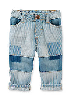 OshKosh B'gosh Patchwork Hickory Stripe Jeans