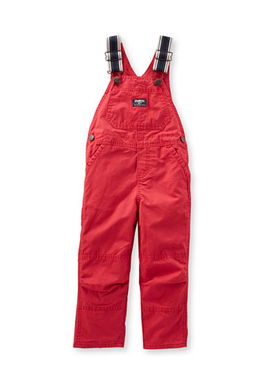 OshKosh B'gosh® Twill Front Pocket Overalls