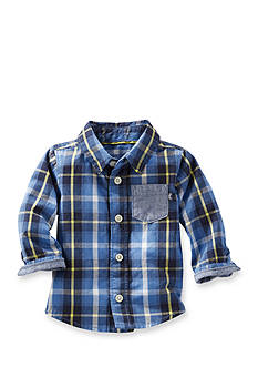 OshKosh B'gosh Plaid Button-Front Shirt