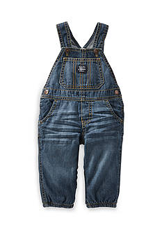 OshKosh B'gosh Jersey-Lined Denim Overalls
