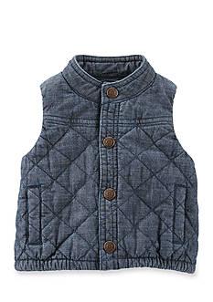 OshKosh B'gosh Quilted Chambray Vest