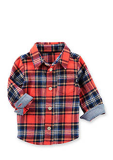 OshKosh B'gosh Lightweight Flannel Button Front Shirt
