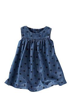OshKosh B'gosh 2-Piece Dotted Chambray Dress
