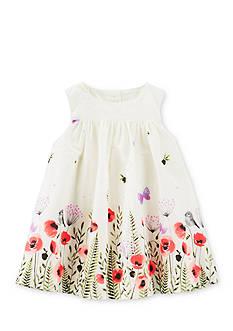 OshKosh B'gosh 2-Piece Floral Poplin Dress and Bloomer Set