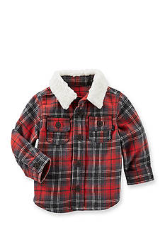 OshKosh B'gosh Jersey-Lined Plaid Shirt Jacket
