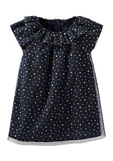 OshKosh B'gosh 2-Piece Sparkle Star Print Tulle Dress