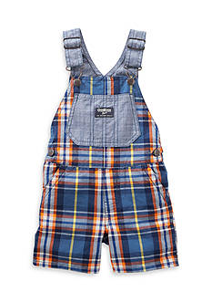 OshKosh B'gosh Chambray And Plaid Shortalls
