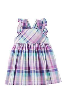 OshKosh B'gosh 2-Piece Plaid Ruffle Dress Set