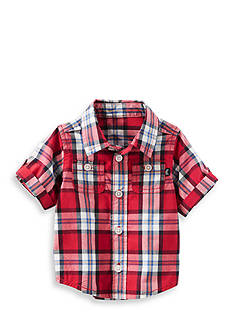 OshKosh B'gosh 2-Pocket Plaid Button-Front Shirt