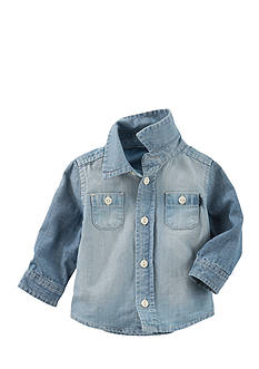 OshKosh B'gosh 2-Pocket Chambray Button-Front Shirt