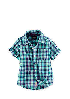 OshKosh B'gosh® Check Woven Shirt Toddler Boys