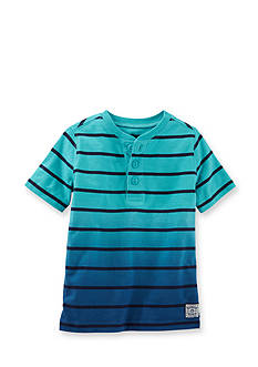 OshKosh B'gosh® Striped Henley Top Toddler Boys