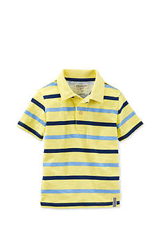 OshKosh B'gosh® Striped Polo Shirt Toddler Boys