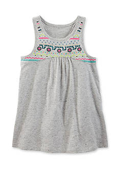 OshKosh B'gosh® Embroidered Printed Tunic Toddler Girls