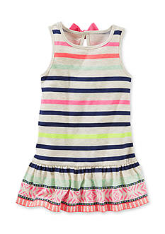 OshKosh B'gosh® Stripe Bow Back Tunic Toddler Girls
