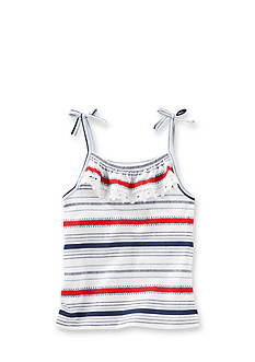 OshKosh B'gosh® Ruffle Stripe Tank Top Toddler Girls