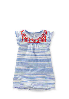 OshKosh B'gosh® Geo Print Stripe Top Toddler Girls