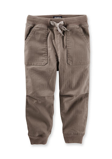 OshKosh B'gosh® Twill Jogger Pants Toddler Boys