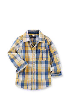 OshKosh B'gosh Plaid Woven Shirt Toddler Boys