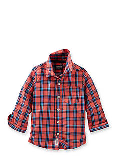 OshKosh B'gosh Plaid Button-Front Shirt Toddler Boys