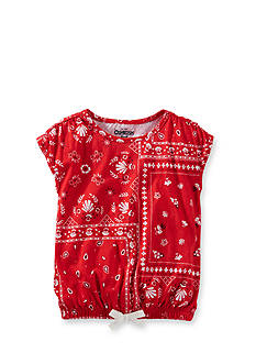 OshKosh B'gosh® Bandanna Top Toddler Girls