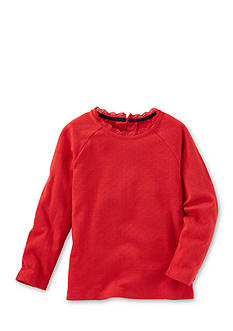 OshKosh B'gosh Long Sleeve Red Sparkle Top Toddler Girls