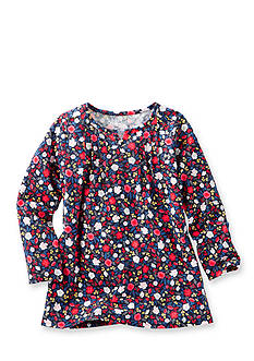 OshKosh B'gosh TLC Floral Pin-Tuck Tunic Toddler Girls