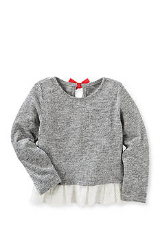 OshKosh B'gosh Eyelet-Hem Sweater Toddler Girl