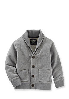OshKosh B'gosh French Terry Shawl Collar Cardigan Toddler Boys
