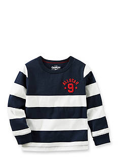 OshKosh B'gosh® Rugby Stripe Tee Toddler Boys