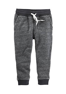OshKosh B'gosh Gray Marled French Terry Joggers Toddler Boys