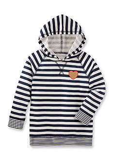 OshKosh B'gosh TLC Striped Hooded Tunic Toddler Girls