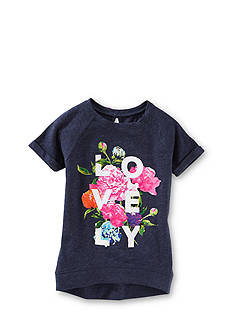 OshKosh B'Gosh® 'Lovely' Floral High Low Tunic Top Toddler Girls
