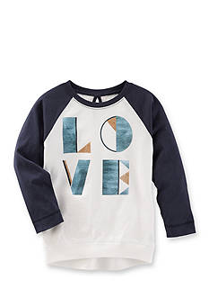 OshKosh B'gosh Raglan Love Tunic Toddler Girls