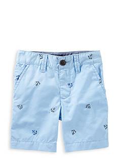 OshKosh B'gosh Anchor Print Flat-Front Short Toddler Boys
