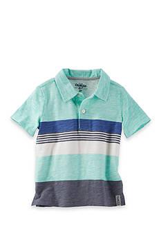 OshKosh B'gosh Engineered Stripe Jersey Polo Toddler Boys