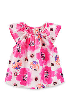 OshKosh B'gosh Floral Print Poplin Top Toddler Girls