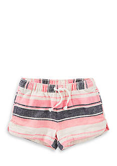 OshKosh B'gosh® Striped Twill Shorts Toddler Girls