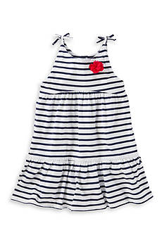OshKosh B'gosh Striped Jersey Tier Dress Toddler Girls