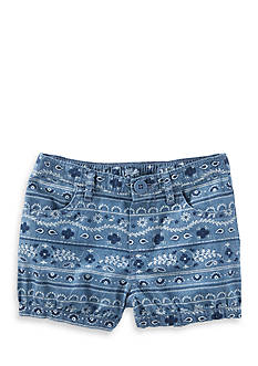 OshKosh B'gosh® Bandana Print Chambray Bubble Short Toddler Girls