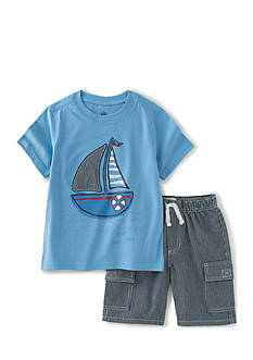 Kids Headquarters Sail Shorts Set