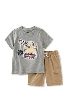 Kids Headquarters 2-Piece Construction Tee and Shorts Set