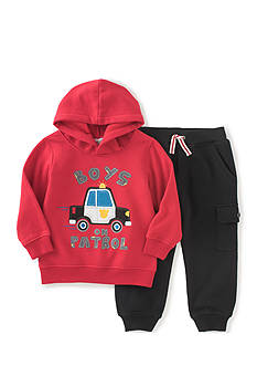 Kids Headquarters 2-Piece Fleece Hoodie & Pant Set Toddler Boys