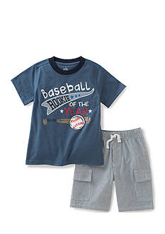 Kids Headquarters 2-Piece Baseball Tee Set Toddler Boys