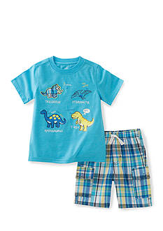 Kids Headquarters 2-Piece Dinosaurs Tee and Short Set