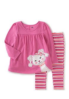 Kids Headquarters 2-Piece Poodle Tunic and Legging Set