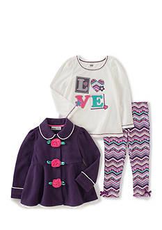 Kids Headqrtrs Inf/Tdlr Love Jacket Set Toddler Girls